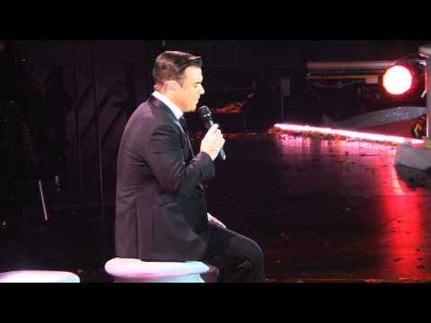 Robbie Williams   Budapest 2014   If I Only Had A Brain