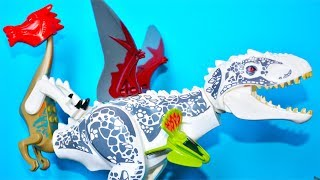 ЛЕГО ДИНОЗАВРЫ - Дракозавр против Ти-Рекса! 2 серия. Мультики для детей. Выбирай Приз!