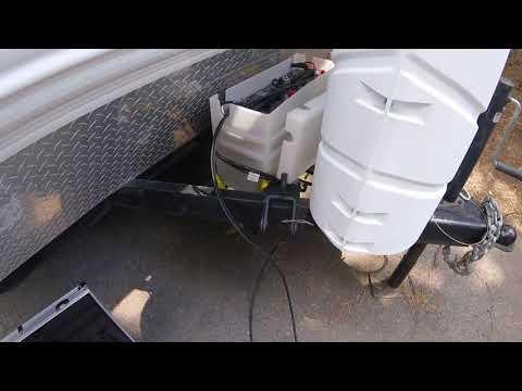 RV Dry Camping Boondocking Setup