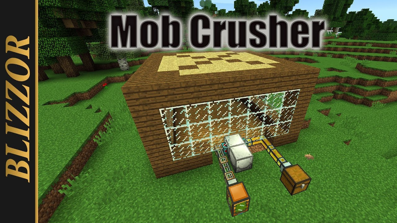 Industrial Foregoing - Mob Crusher [Tutorial] [Deutsch] [German]