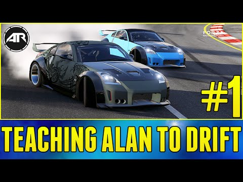 Forza 6 Online : Teaching Alan To Drift!!! (How To Drift In Forza 6) Part #1