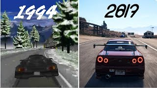 Evolution Of Need For Speed Games From 1994 - 2017 | Awesome Boy | Must Watch This Video.