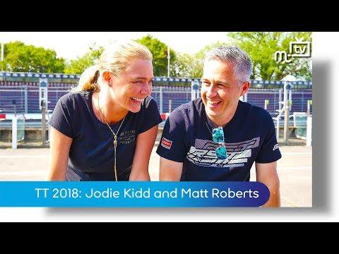TT 2018: Jodie Kidd and Matt Roberts