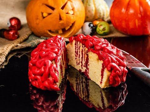 """Creier """"însângerat"""" de Halloween"""
