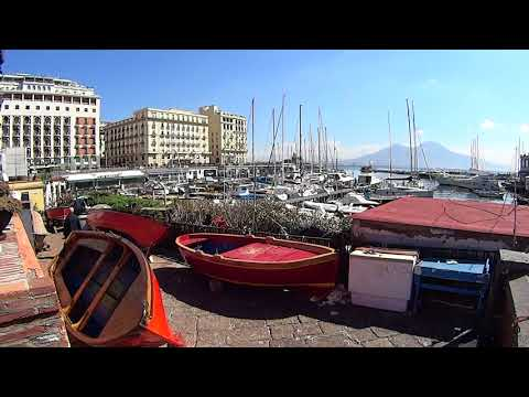 Naples Italy,walking from Cruise Ship Terminal to see this beautiful City.