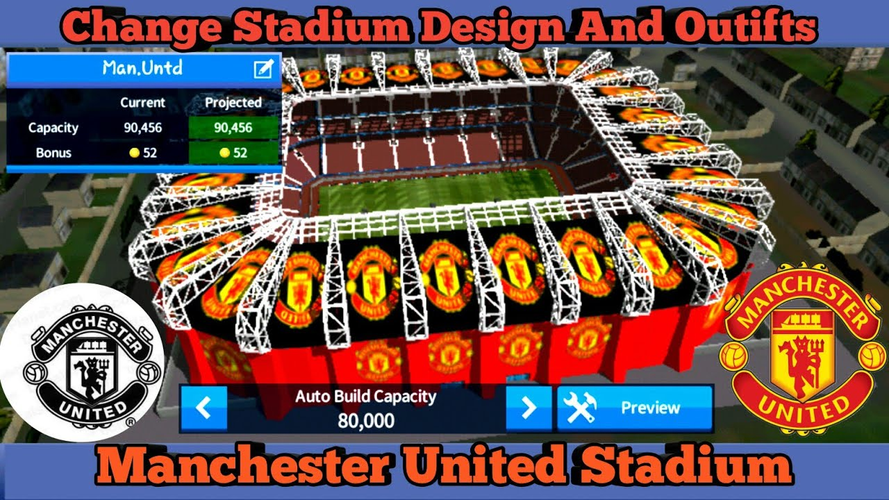 6c95b7e037e Manchester United Stadium In Dream League Soccer Latest Update 2018 ...