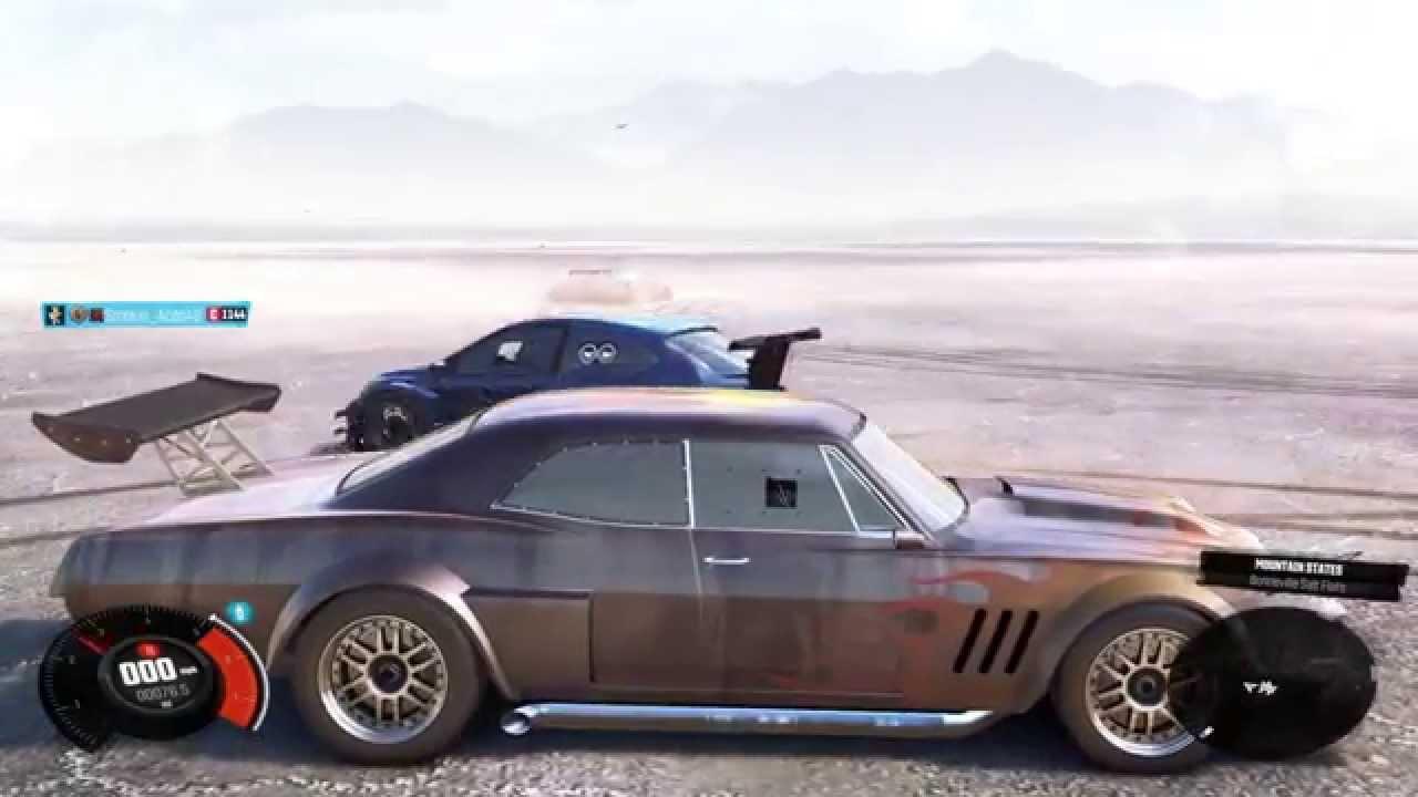 the crew drag race 1 1967 chevy impala sedan vs ford focus. Black Bedroom Furniture Sets. Home Design Ideas