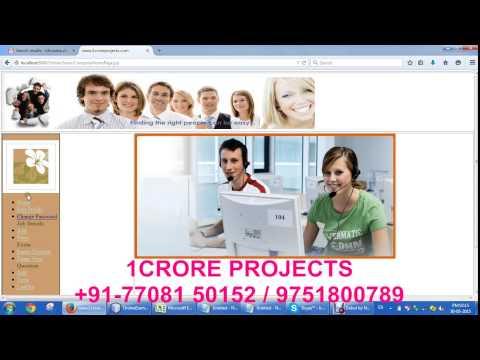 Online Job Portal (JAVA)