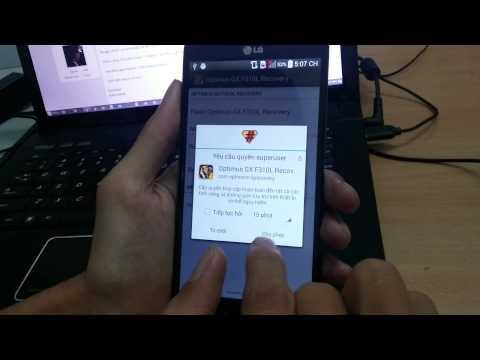 Hướng dẫn flash và sử dụng LG GX F310L
