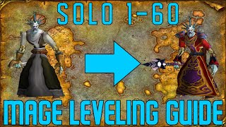 Скачать Horde Mage Speed Leveling Guide Solo AoE Farm Locations 1 60 Also Some Quests Mage Compendium