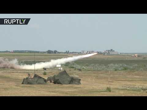 Missiles & drones: US & Romanian troops conduct Saber Guardian drills