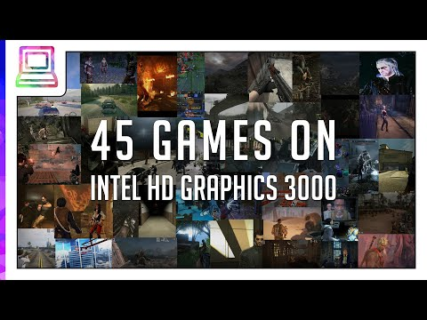 45 Video Games Running On Intel HD Graphics 3000 (Notebook / Laptop)