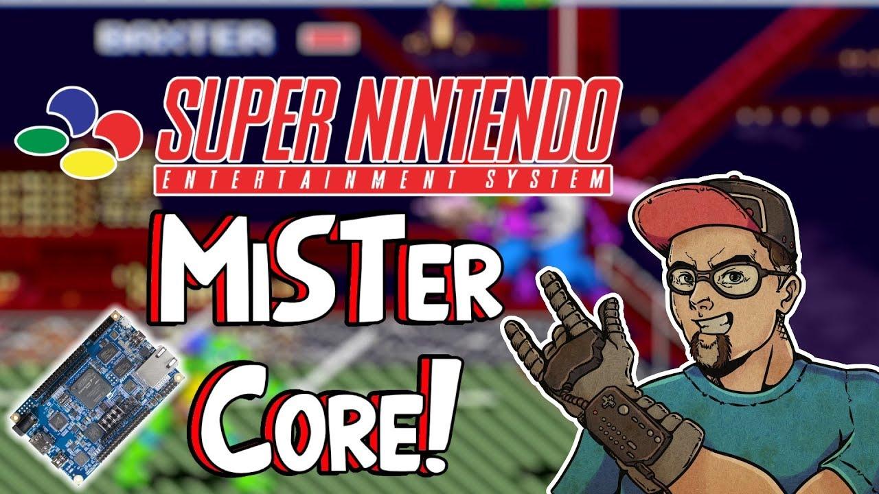 SNES MiSTer FPGA Core! This Is The Future Of Retro Gaming! - Arcade