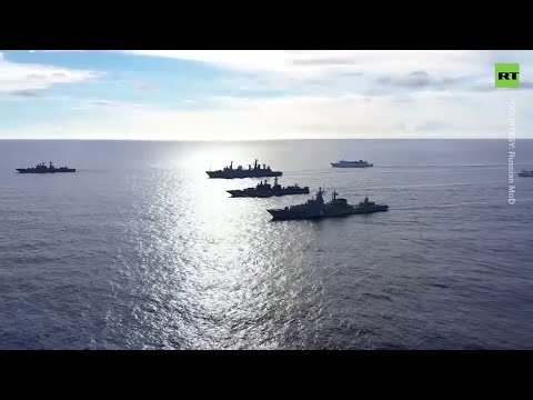 Russia's Pacific Fleet kicks off large-scale drills in inter
