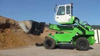 SENNEBOGEN_Biomass Handling_マルチローダー305with light bulk goods shovel