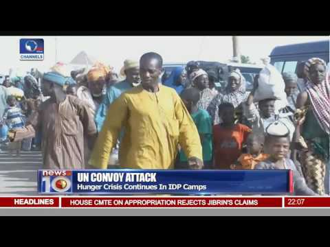 Hunger Crisis Rocks IDP Camps As UN Suspends Humanitarian Aids After Attack
