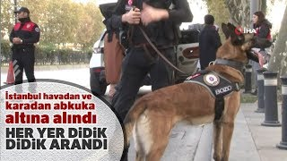 """İstanbul'da """"Kurt Kapanı-18"""" Uygulaması Gerçekleştirildi"""