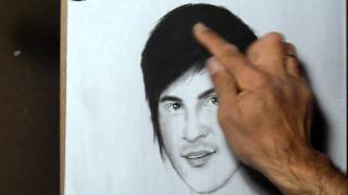How to draw Anthony Padilla-smosh (timelapse)