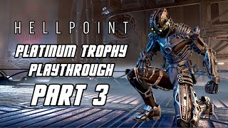 HELLPOINT - Platinum Trophy Playthrough Part 3 - Gun/Magic/Dex Build (PS4 PRO)