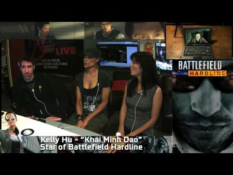 Kelly Hu plays Battlefield Hardline w/ Alicia Marie!
