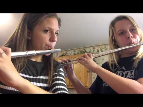 The Pink Panther Flute Duet