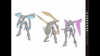 CARSTYLING SPECIAL EDITION 輪廻のラグランジェ - カーデザイナーが描いたロボット.