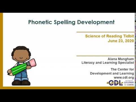 Phonetic Spelling Development
