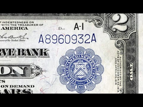 What A Blue Treasury Seal Means On $2 Bills And Other Currency