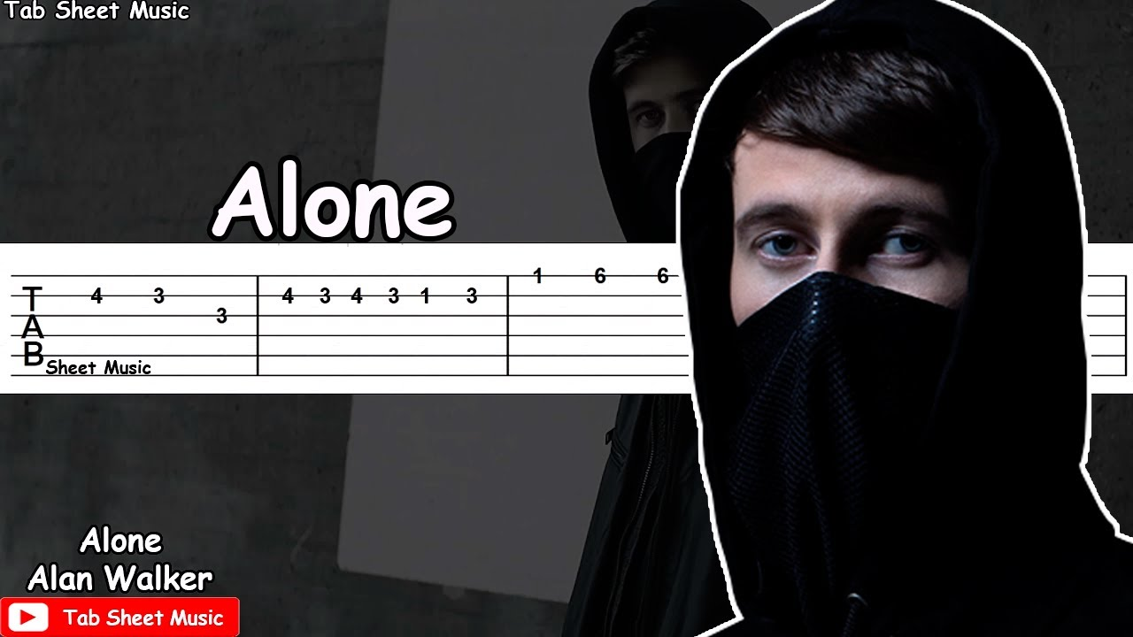 alan walker alone lyrics pdf