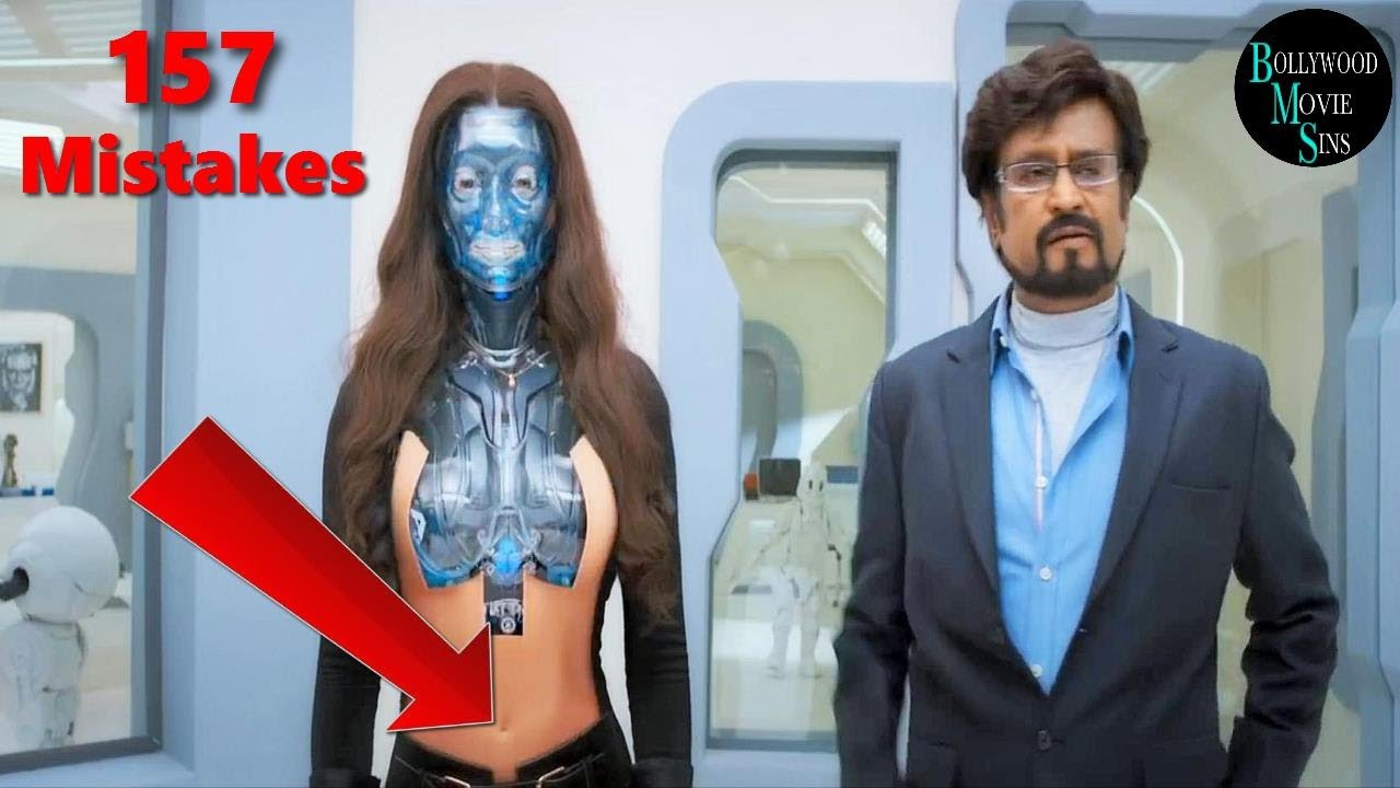 Download [EWW] 2.0 FULL MOVIE 2018 V/S ROBOT (157) MISTAKES | 2.0 FULL MOVIE V/S ROBOT MISTAKES | RAJINIKANTH