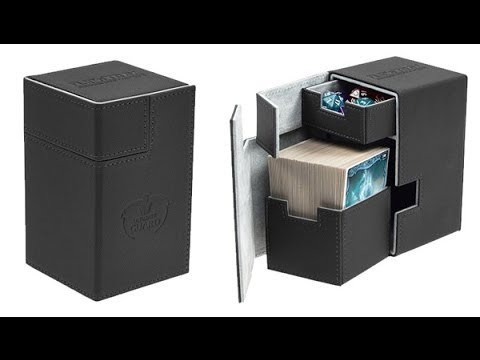 Ultimate Guard deck boxes and the Satin Tower. Also, I'm back!