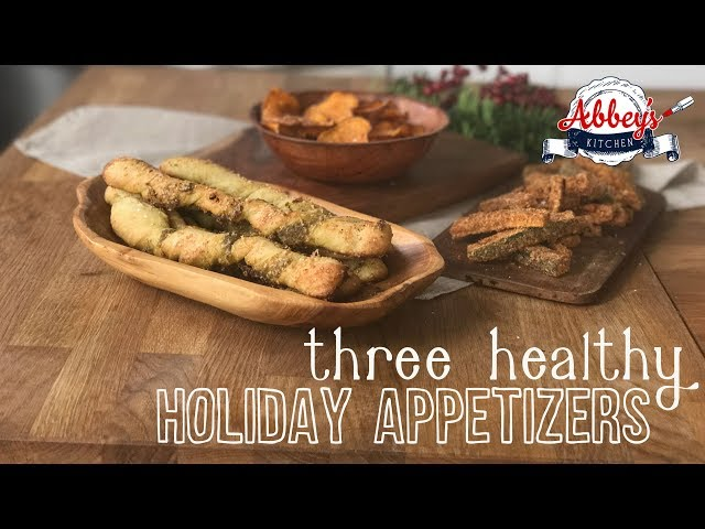 Three Healthy DIPPERS for Hummus | Appetizers | Holiday | Entertaining