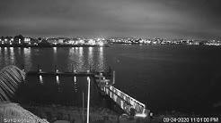 San Diego Web Cam   Shelter Island (N)