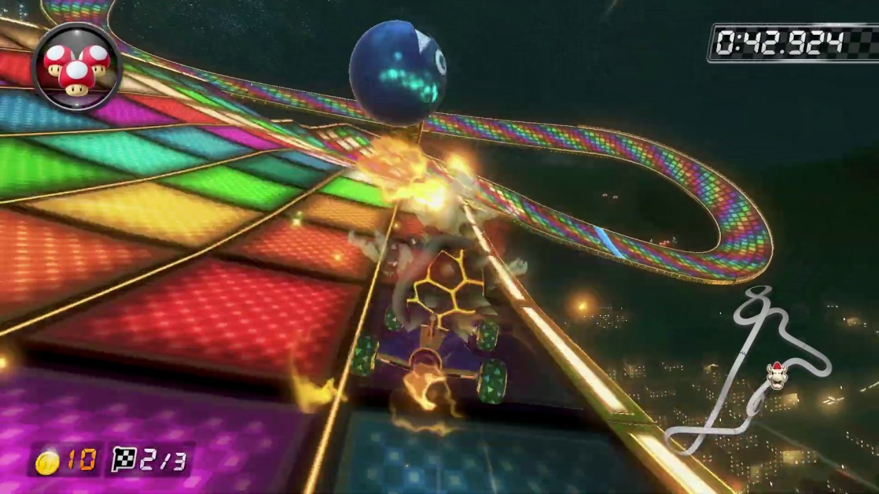 N64 Rainbow Road [150cc] - 1:20.199 - Vincent (Mario Kart 8 Deluxe World Record)