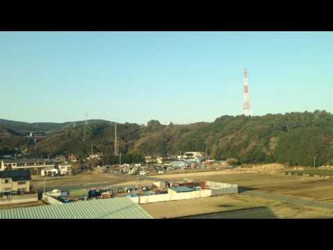 Fuji mountain, Kobe to Tokyo Japan, Nozomi Shinkansen Bullet train N700A