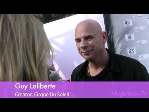 Guy Laliberte at World Premiere of IRIS by Cirque du Soleil