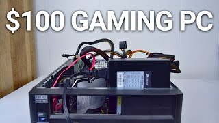 CRAZY $100 Budget Gaming PC Challenge (2017) — Rust, CS:GO, Rocket League, GTA V