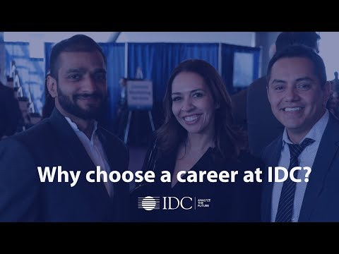 Why choose a career at IDC?