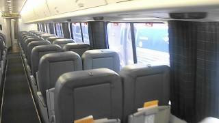 (HD) 200th Video!! A brief tour of an Acela Express.