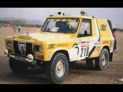 ARO la raliul Paris Dakar 1985 - franceza