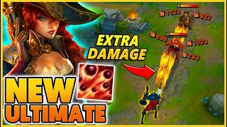 HOW to use MF's NEW ULTIMATE (EXTRA DAMAGE) - BunnyFuFuu | League of Legends