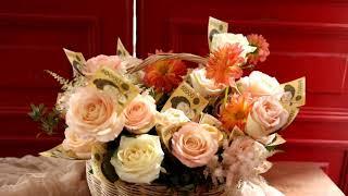 서초동서초역꽃집 장미돈꽃바구니 결혼30주년기념 고마운 …