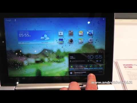 Huawei MediaPad 10 FHD, anteprima in italiano (CES 2013) by AndroidWorld.it