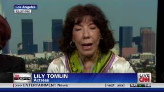 Lily Tomlin discusses upcoming anti-bullying documentary