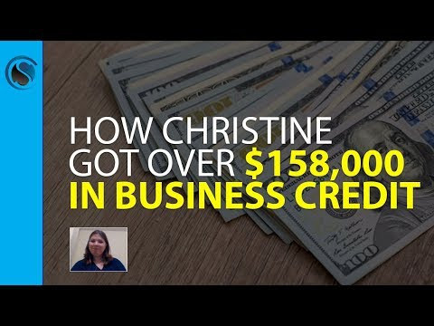 How Christine Got Over $158,000 in Business Credit Approvals