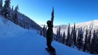 Whitewater Ski Resort, Nelson, BC in 4K