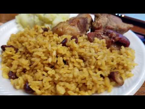 Puerto Rican  Rice With Beans