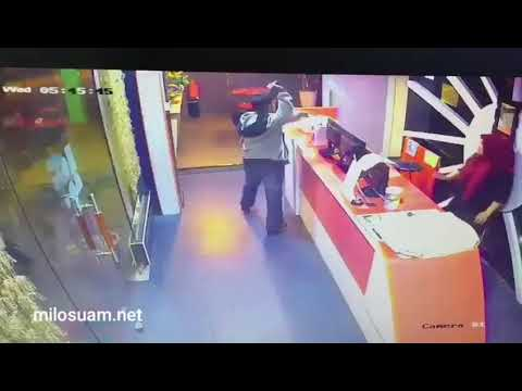 Download Rakaman CCTV Hotel Ayer Hitam kena samun — MiLo SuaM
