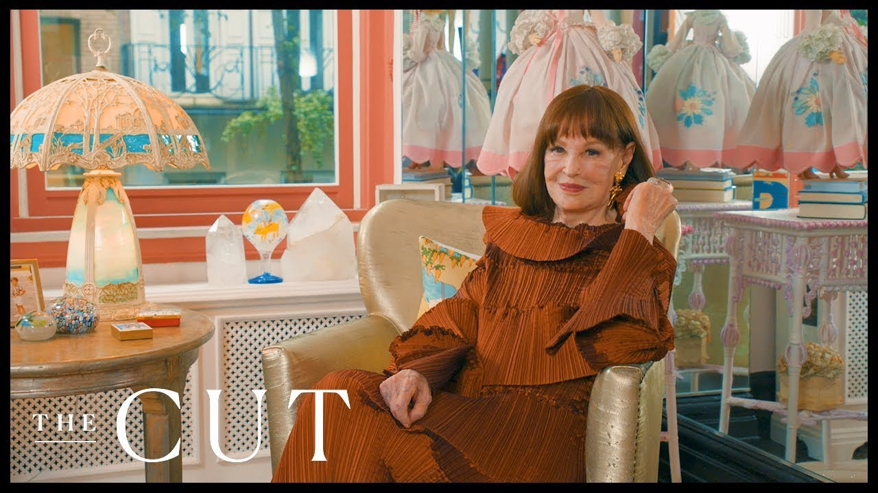 Gloria Vanderbilt Let Us Visit Her Upper East Side Home Interior Lives New York Magazine