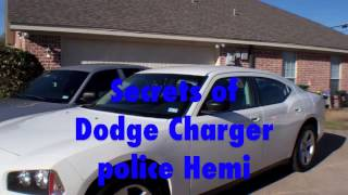 Dodge Charger police Hemi secrets